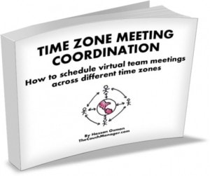 "It's Out! ""Time Zone Meeting Coordination"" Free Ebook Published!"