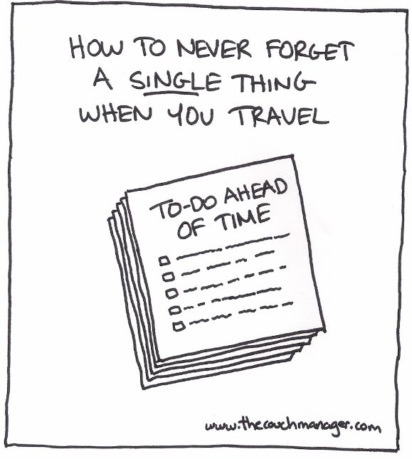 How to Never Forget a Single Thing when you Travel (Using Simple GTD ...