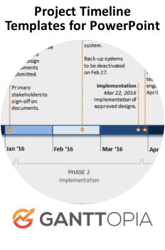 Project Timeline Templates for PowerPoint